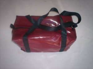 Small PVC Squat Bag